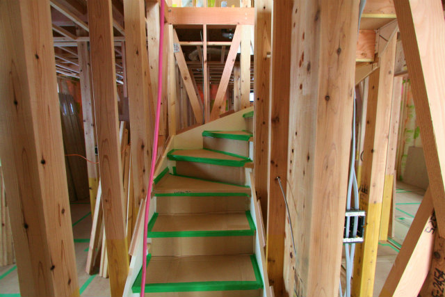 狭小地・二世帯住宅・3階建て・足立区